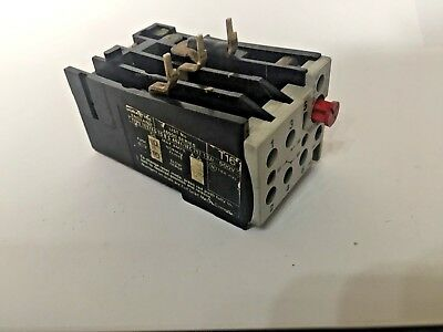 Overload relay  265000 series 2-3A  T16 (discontinued)