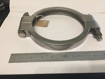 "6.5"" 61/2"" High Pressure Tri Clamp Clover Sanitary Fittings Stainless Steel 316"