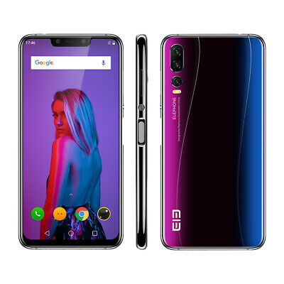 Elephone A5 Handy Octa Core 4GB+64GB Android 8.1 OS Phone Face ID 20MP 2246*1080
