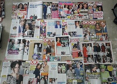 Meghan Markle And Prince Harry Clippings 400+