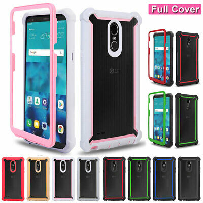 Thin Shockproof Rugged Armor Heavy Duty Case Cover for LG Stylo 5 4 Plus/Aristo3