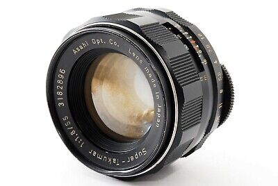 *Exc+* Pentax Super Takumar 55mm f/1.8 MF Lens M42 Mount from JAPAN*1076