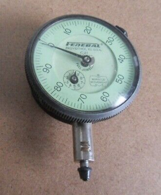 Vintage Depth Gauge With Federal (Usa) Indicator C21 .0001""