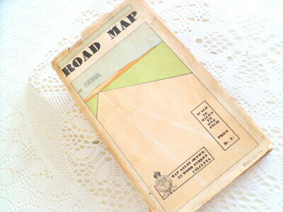 Road Map of India, Brigadier C G Lewis OBE, Surveyor General of India, 1939.