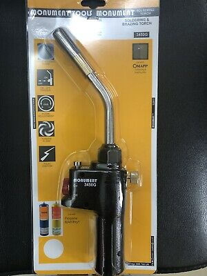 Monument 3450g Gas Soldering Torch CGA600 - MON3450