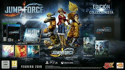XBOX ONE JUMP FORCE COLECTOR EDITION new and sealed  (PAL ESP)