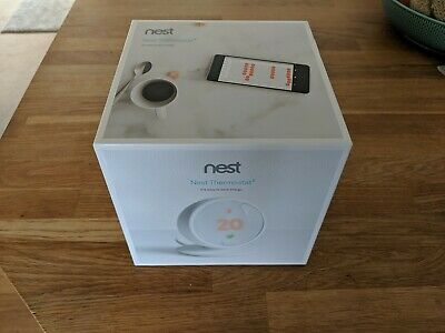 Nest Thermostat E HF001235-GB Mint condition with all packaging and instructions