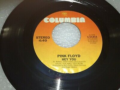 "Pink Floyd Comfortably Numb / Hey You 7"" Us 45 Single Ex"