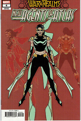 War Of The Realms New Agents Of Atlas #4 1:25 Leinil Francis Yu Variant - Scarce