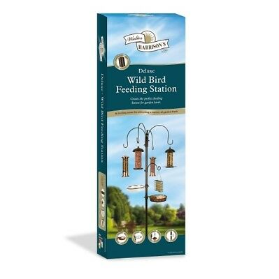 Harrisons Deluxe Wild Bird Feeding Station 6 Feeding Areas