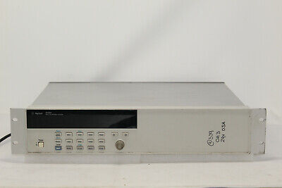 """Hp Agilent Keysight 3499A Switch Control System 5-Slot Mainframe Chassis """""""