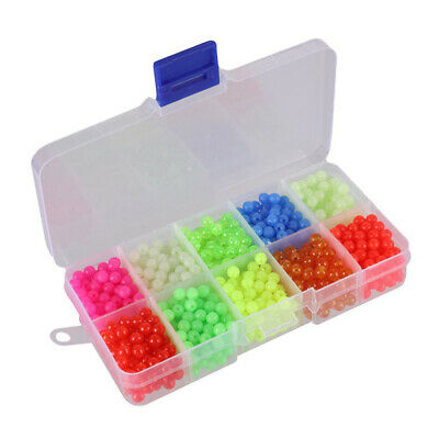 Carp Floating Beads Fishing Soft Lures Tackle Assorted Plastic Durable