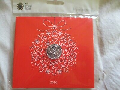 The Christmas Nativity Story 2016 UK 20 Pound Fine Silver Coin The Royal Mint