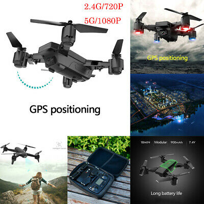 Drone x pro 5G Selfie WIFI FPV GPS With 1080P HD Camera RC Foldable Quadcopter