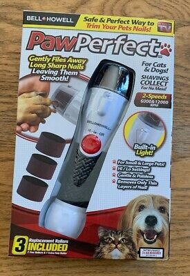 Paw Perfect The Fast, Easy and Safe Pet Nail Filer and Trimmer -As Seen on TV