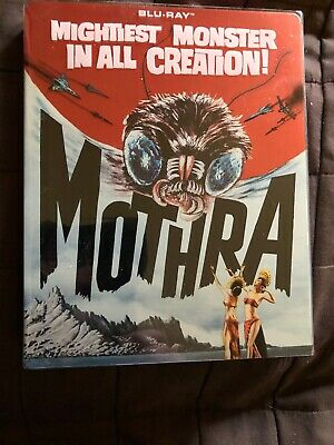 Mothra - SteelBook Edition [Blu-ray] Like New- With Slipcover