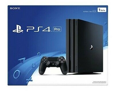 Sony PlayStation 4 Pro 1TB PS4 Pro Gaming Console Black (Brand New)