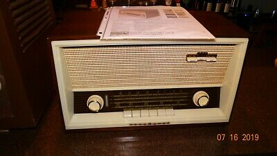 Nordmende  Boheme C Am/fm/sw Tube Radio Works