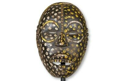 "Animated Ituri Forest Mask 14"" - DRC - African Art"