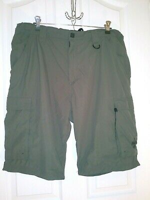Boy Scouts Of America BSA Men's Large Olive Cargo Hiking Shorts