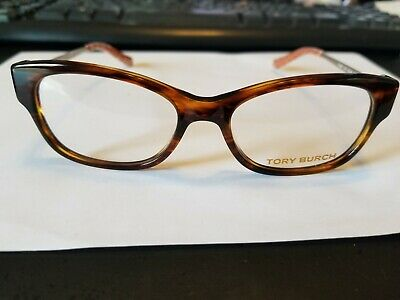 New Authentic Tory Burch Eyeglasses Ty2035 1212 Havana/Gold 50-16-135..Perfect