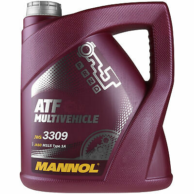 4 Liter Original MANNOL MN8210-4ME ATF Multivehicle Automatikgetriebeöl Oil