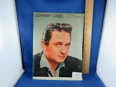 Johnny Cash Song and Picture Folio No 2