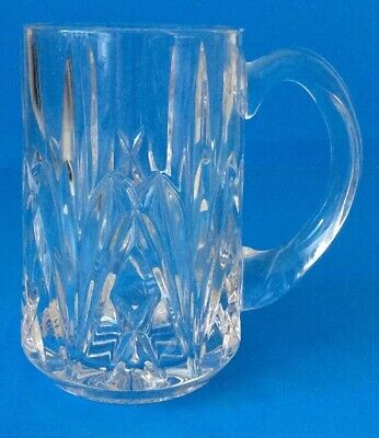 MARQUIS by WATERFORD Brookside Beer Glass Stein Mug With Handle Heavy EUC!