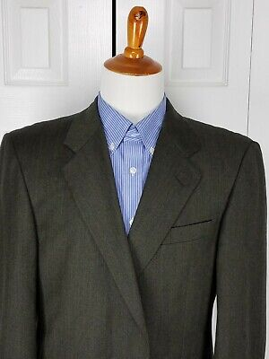 Gieves & Hawkes Mens Sport Coat Blazer Suit Jacket Size 44R