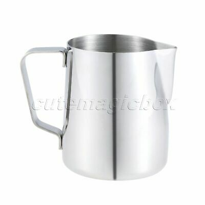 1Pc Coffee Milk Latte Jug Stainless Steel Silver Kitchen Tools Accessories New