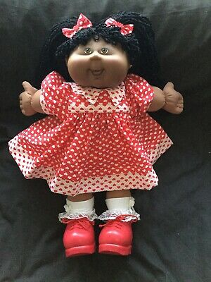 Cabbage Patch Kid Doll Dress Set. Red Mix N Match Hearts. No Doll.