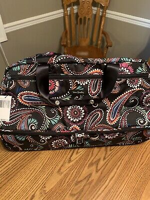 Vera Bradley Lighten Up Wheeled Carry On ~ NWT ~ (TWO PATTERNS TO CHOOSE FROM)