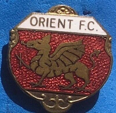Orient FC enamel lapel badge