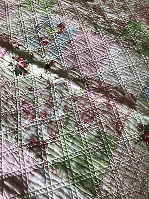 French Cot Quilts Matching Pair (x2) (Vintage Style)