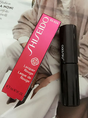 New Shiseido Lacquer Rouge RS404 Disco 0.2oz / 6ml