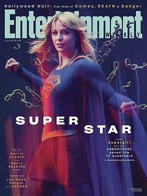 Entertainment Weekly Mag (July 19 2019) Super Star - Supergirl; Melissa Benoist
