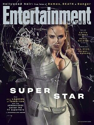 Entertainment Weekly Mag (July 19 2019) TV Super Star - White Canary; Arrowverse