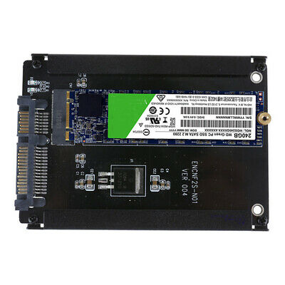 M.2 SSD to 2.5in SATA Adapter M.2 NGFF to SATA Converter Open-Frame Bracket