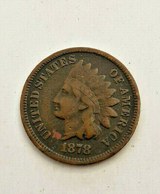 1878  Bronze INDIAN HEAD CENT Cent Penny