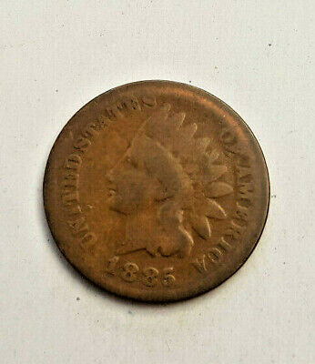 1885  Bronze INDIAN HEAD CENT Cent Penny
