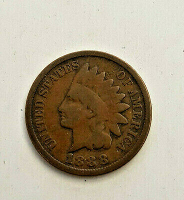 1888 Bronze INDIAN HEAD CENT Cent Penny