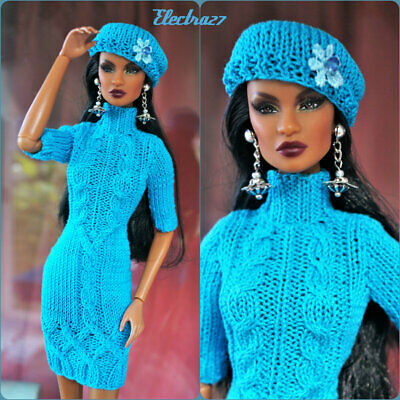 Fashion ooak handmade outfit  for Fashion Royalty, FR2, Nu Face, Poppy Parker