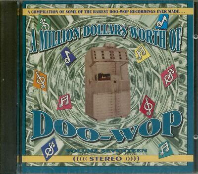 Various - A Million Dollars Worth Of Doo-Wop Vol.17 (CD) - Vocal Groups/Doo Wop