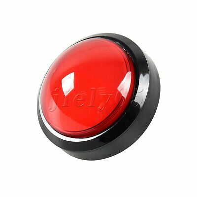 Big Dome Red Convex Game Self-resetting Push Button 100mm Control Switch
