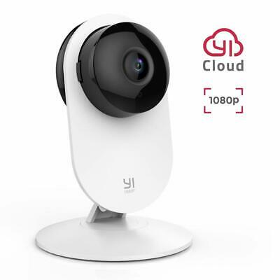 YI Home Camera 1080p FHD Wireless Wifi Security with Surveillance System White