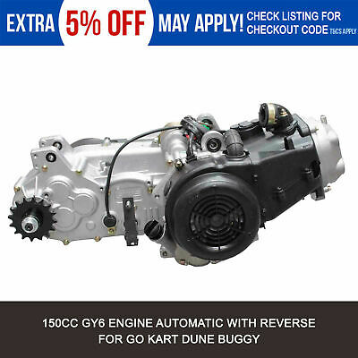 4 STROKE 150CC GY6 ENGINE/Motor Auto Clutch for ATV Quad Buggy Go kart  Scooter