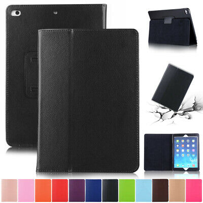 For iPad 9.7 2018 Mini 4 Pro 11 Air 2 Case Leather Stand Shockproof Folio Cover