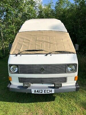 VW T25 cover deluxe wrap black out camper frost protection window van Beige