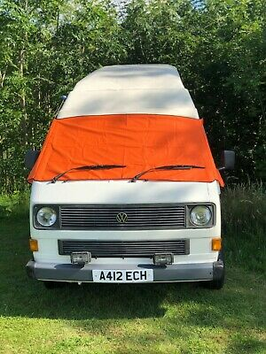 VW T25 cover deluxe wrap black out camper frost protection window van Orange
