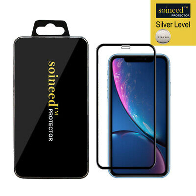 """[1-Pack]  Tempered Glass Screen Protector FULL COVER For Apple iPhone XR 6.1"""""""